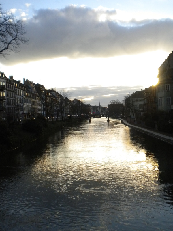 A canal in Strasbourg, France, where I lived for five months